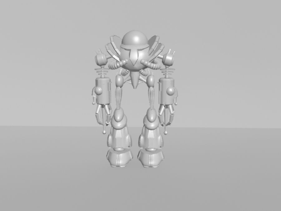 로봇 KF royalty-free 3d model - Preview no. 1