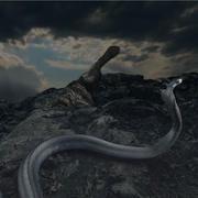 蛇 3d model