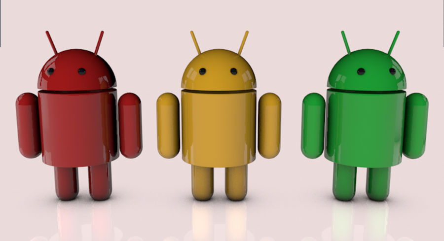 Android royalty-free 3d model - Preview no. 1