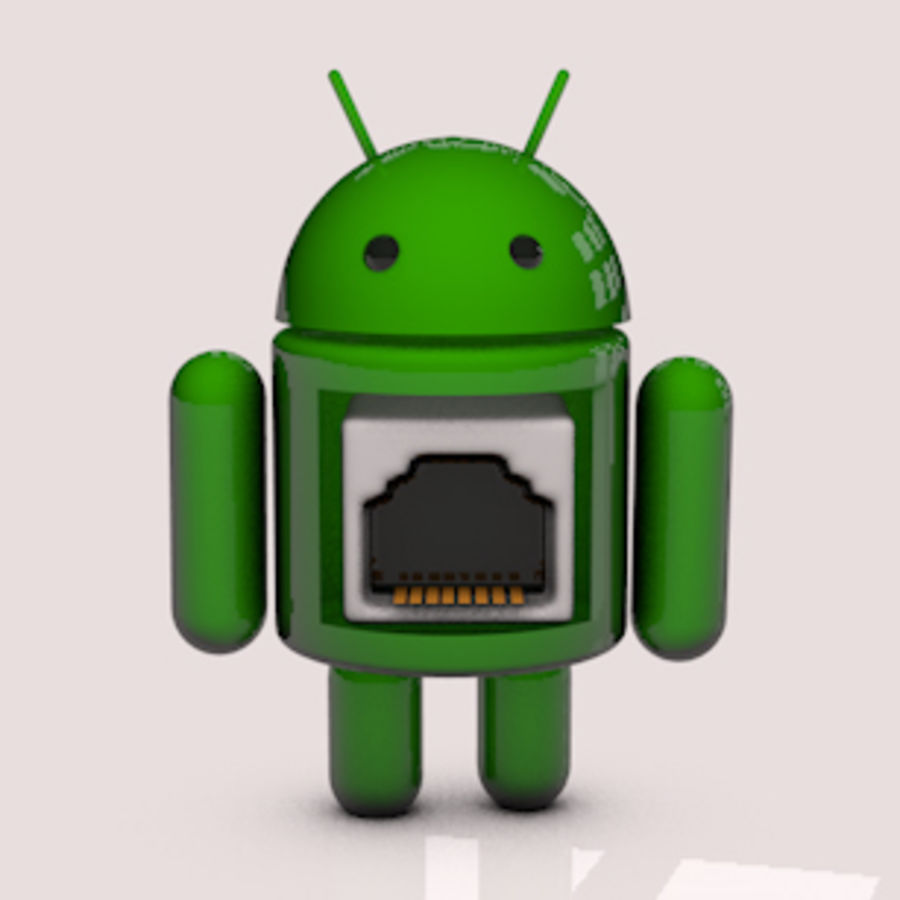 Android-robot royalty-free 3d model - Preview no. 1