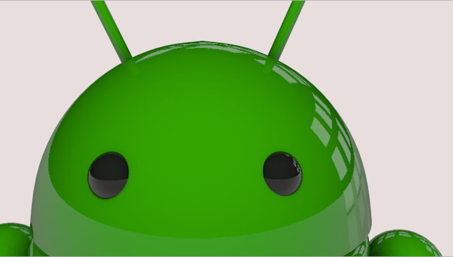 Android-robot royalty-free 3d model - Preview no. 5
