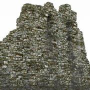 Ruïnes muur 3d model