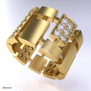 Plate ring 3d model