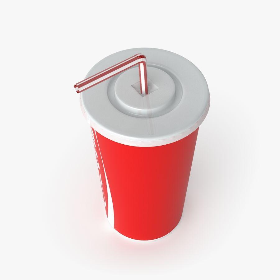 Coca-Cola royalty-free 3d model - Preview no. 3