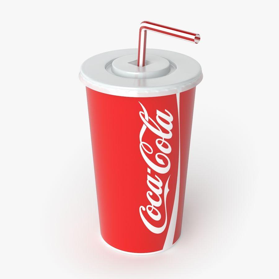 Coca-Cola royalty-free 3d model - Preview no. 1