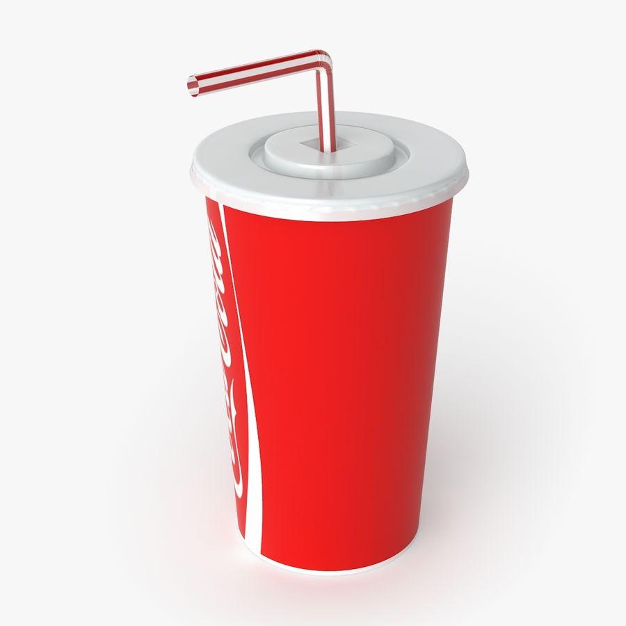 Coca-Cola royalty-free 3d model - Preview no. 2