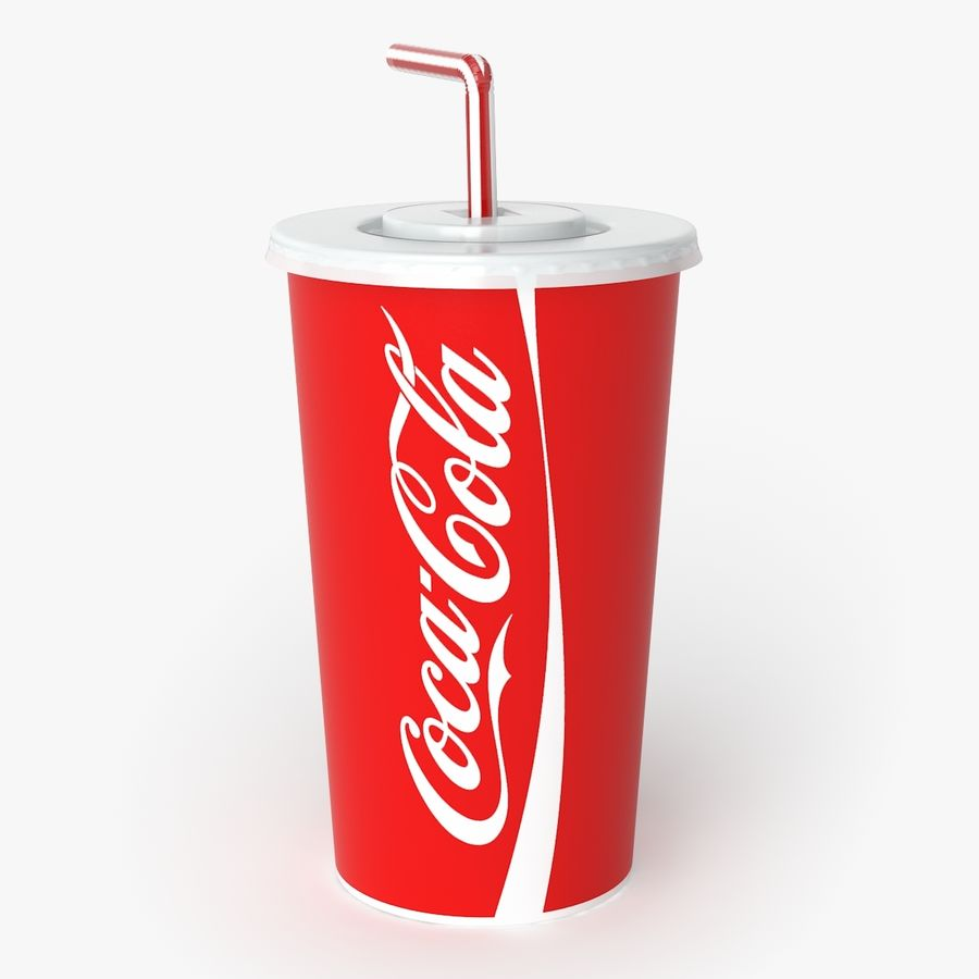 Coca-Cola royalty-free 3d model - Preview no. 4