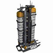 Sci Fi City Building Game Activo 06 - Modelo VR AR Sci-Fi Pro modelo 3d