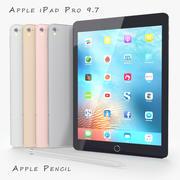 iPad Pro 9.7 3d model