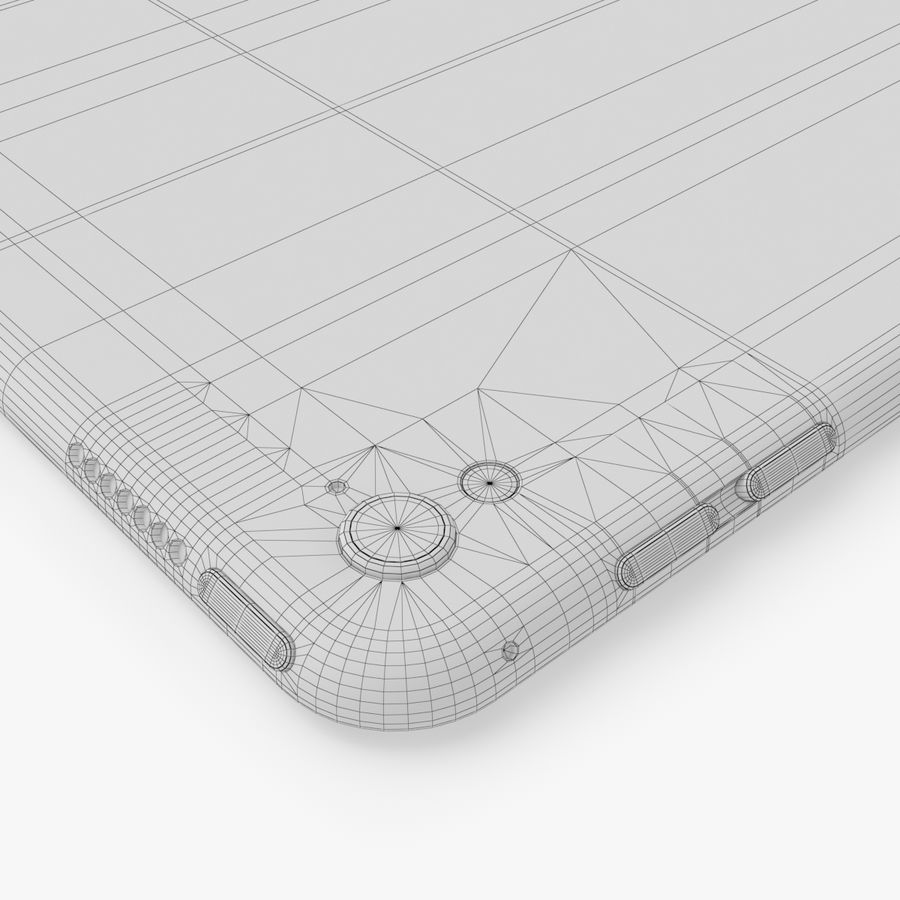 iPad Pro  9.7 royalty-free 3d model - Preview no. 27