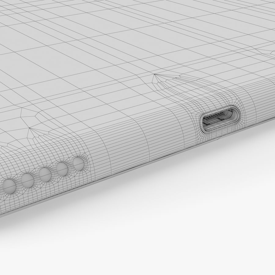 iPad Pro  9.7 royalty-free 3d model - Preview no. 30