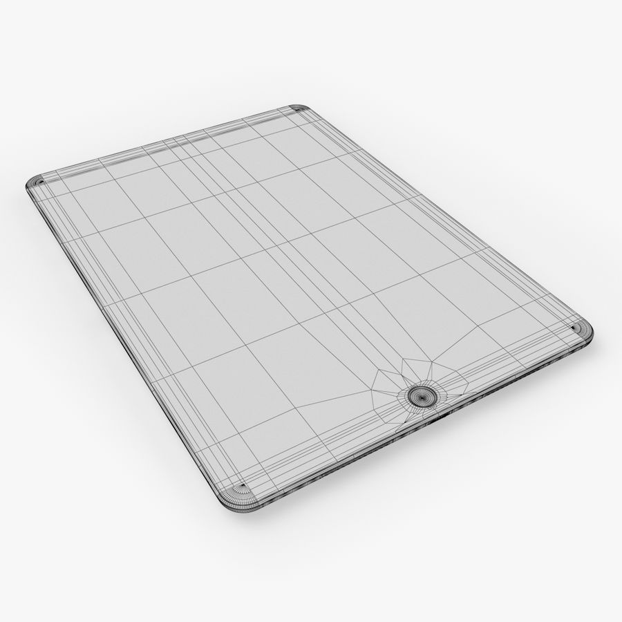 iPad Pro  9.7 royalty-free 3d model - Preview no. 26