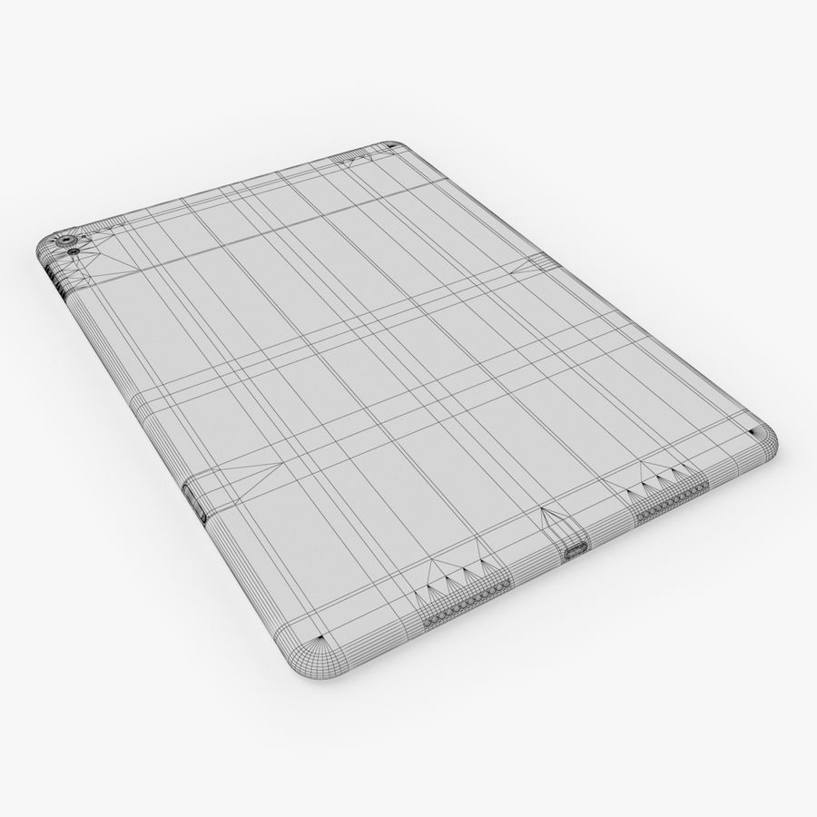 iPad Pro  9.7 royalty-free 3d model - Preview no. 23