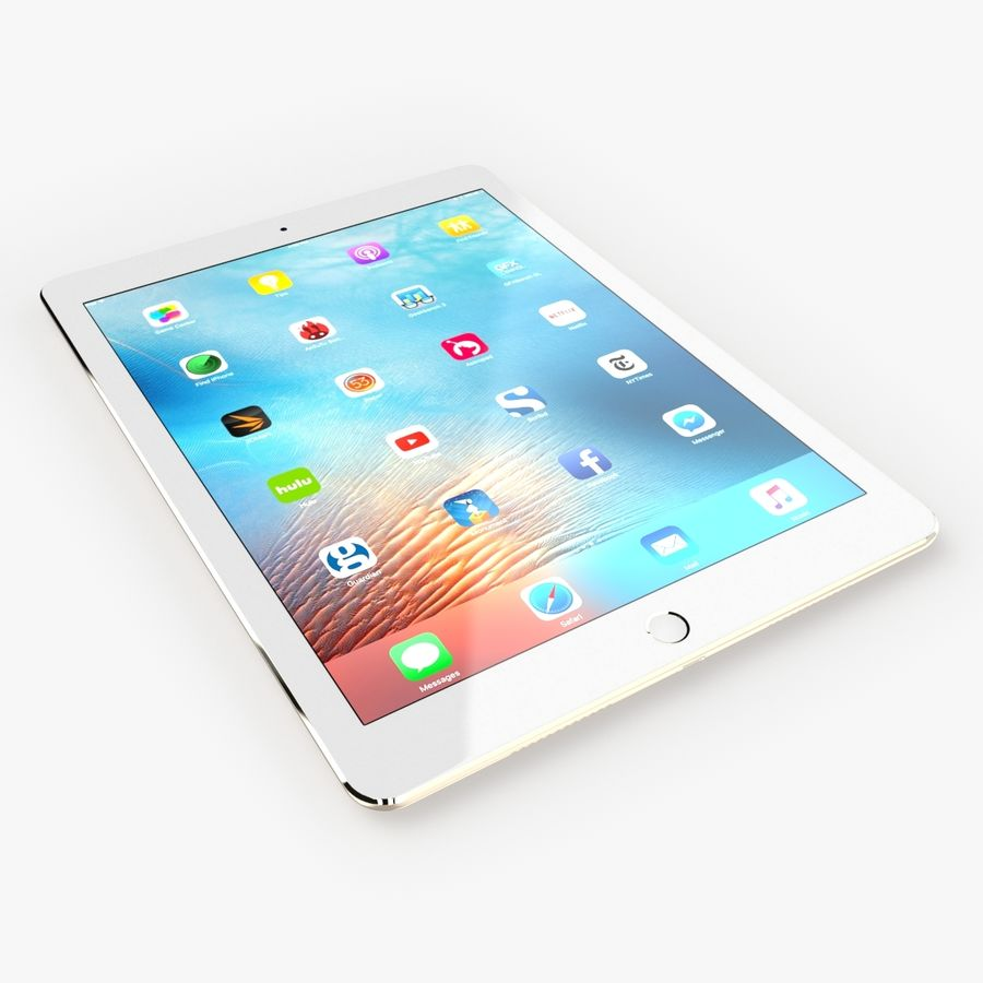 iPad Pro  9.7 royalty-free 3d model - Preview no. 20