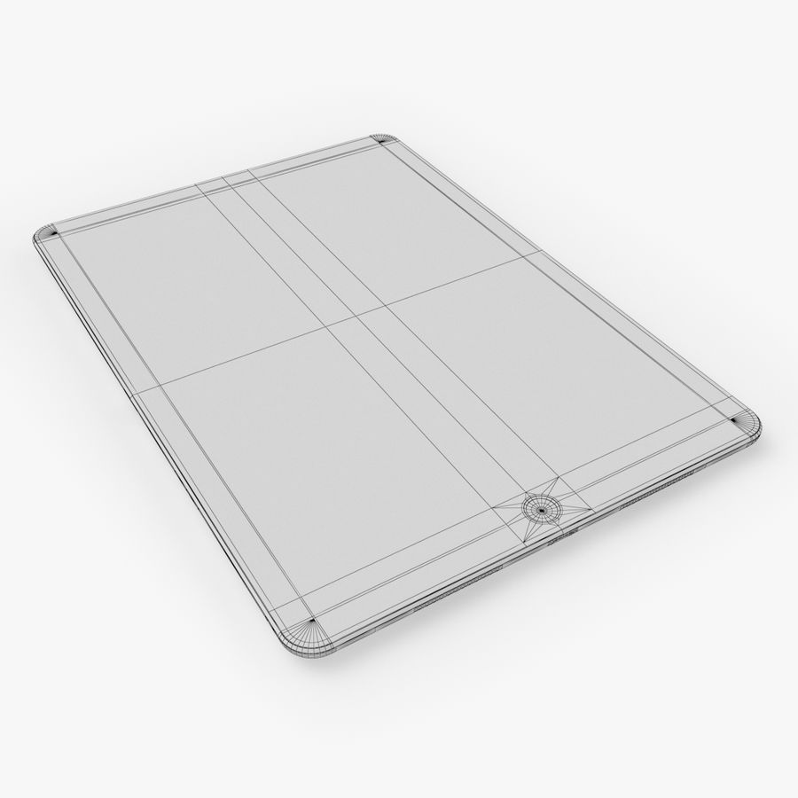 iPad Pro  9.7 royalty-free 3d model - Preview no. 25