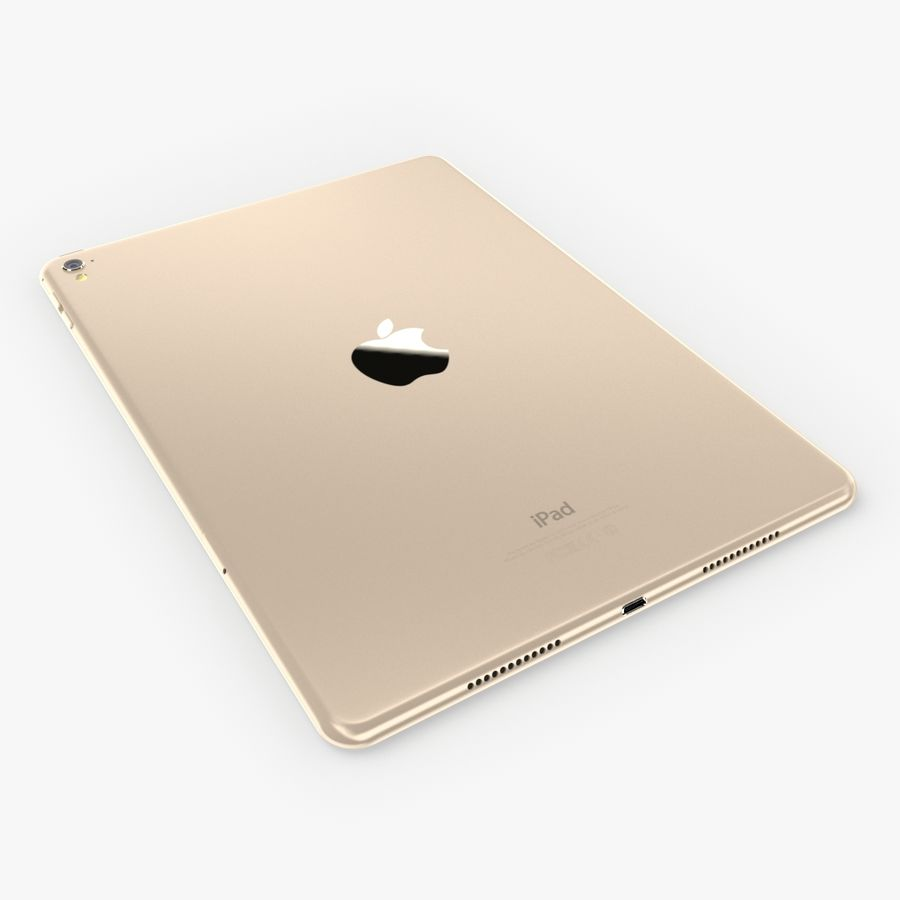 iPad Pro  9.7 royalty-free 3d model - Preview no. 11