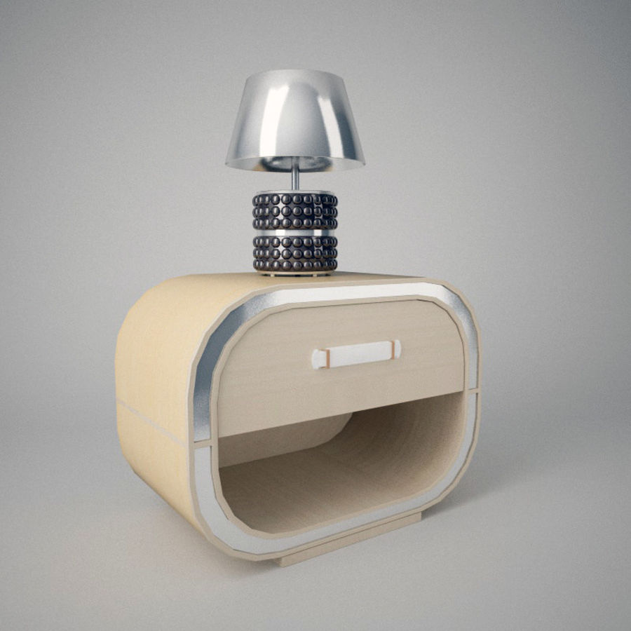 Mesilla de noche royalty-free modelo 3d - Preview no. 1