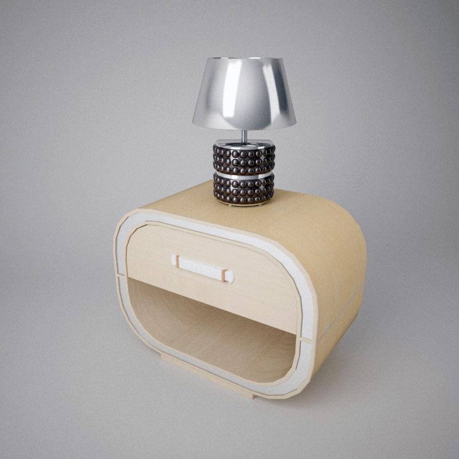 Mesilla de noche royalty-free modelo 3d - Preview no. 5