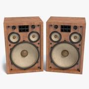 Old Speakers 3d model