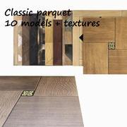Modulaire vloeren, klassiek 3d model