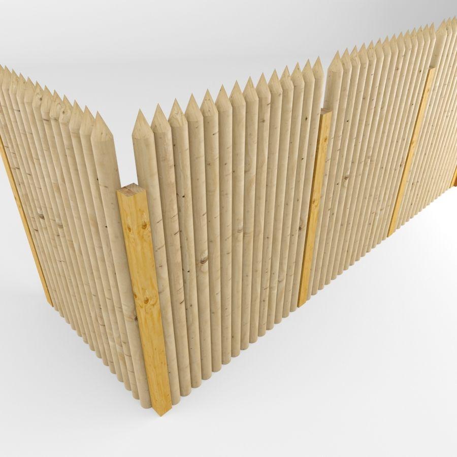 Cerca de madeira royalty-free 3d model - Preview no. 7