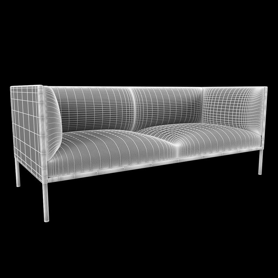 Sofa City royalty-free 3d model - Preview no. 2