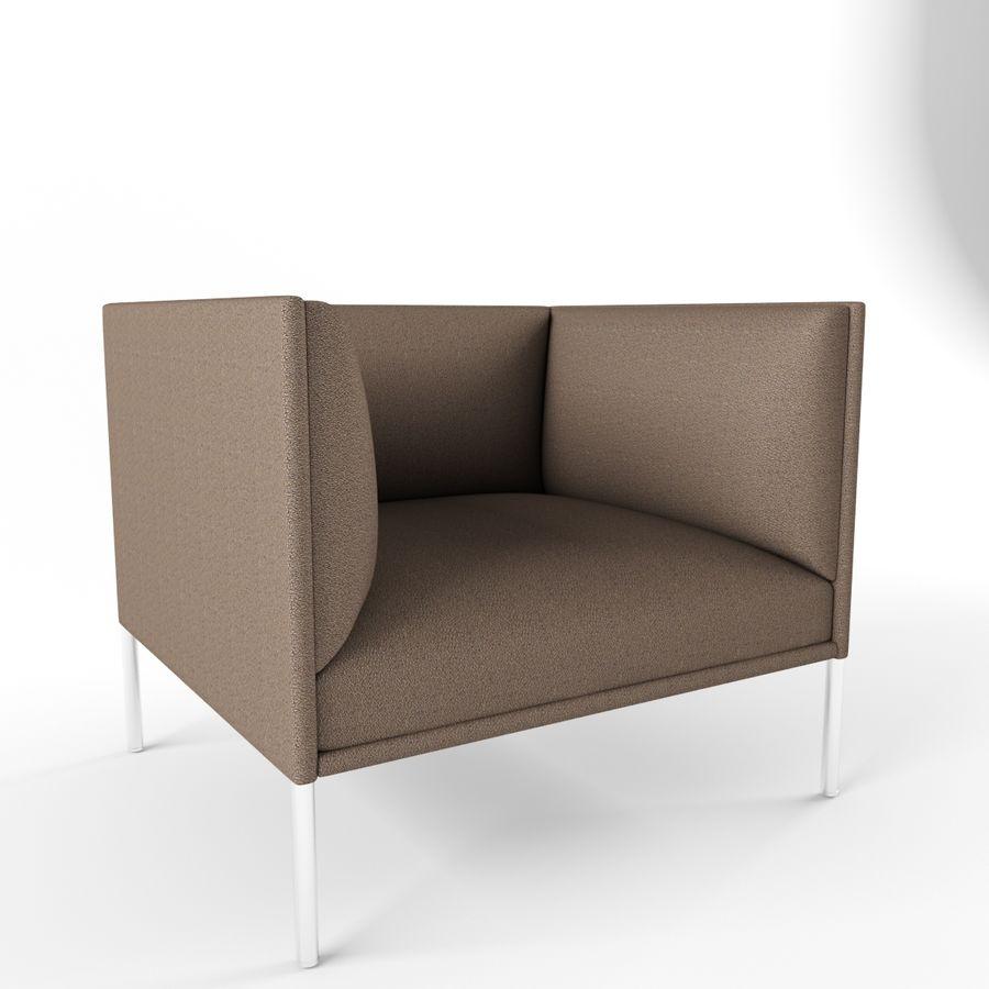 Sofa City royalty-free 3d model - Preview no. 5
