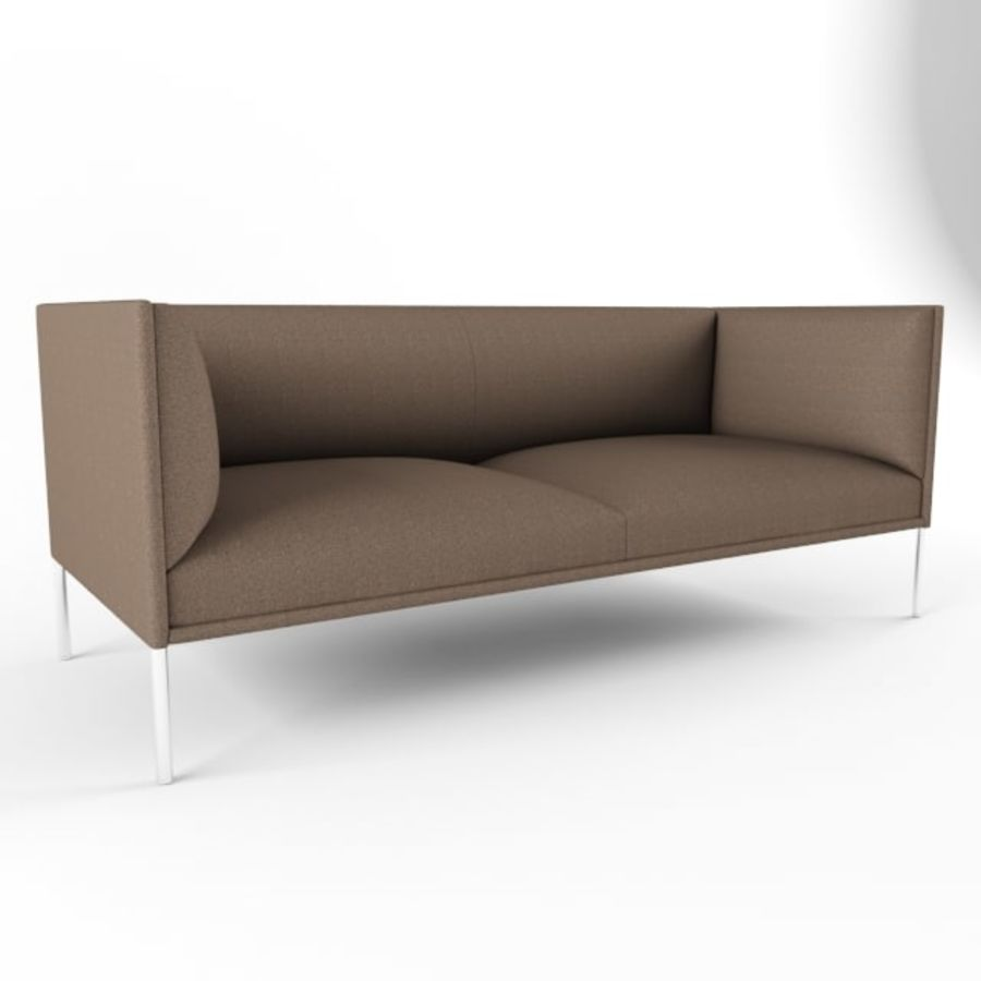 Sofa City royalty-free 3d model - Preview no. 1