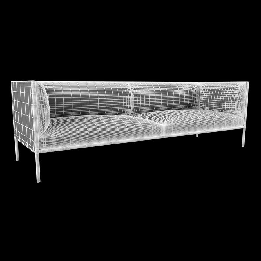 Sofa City royalty-free 3d model - Preview no. 4