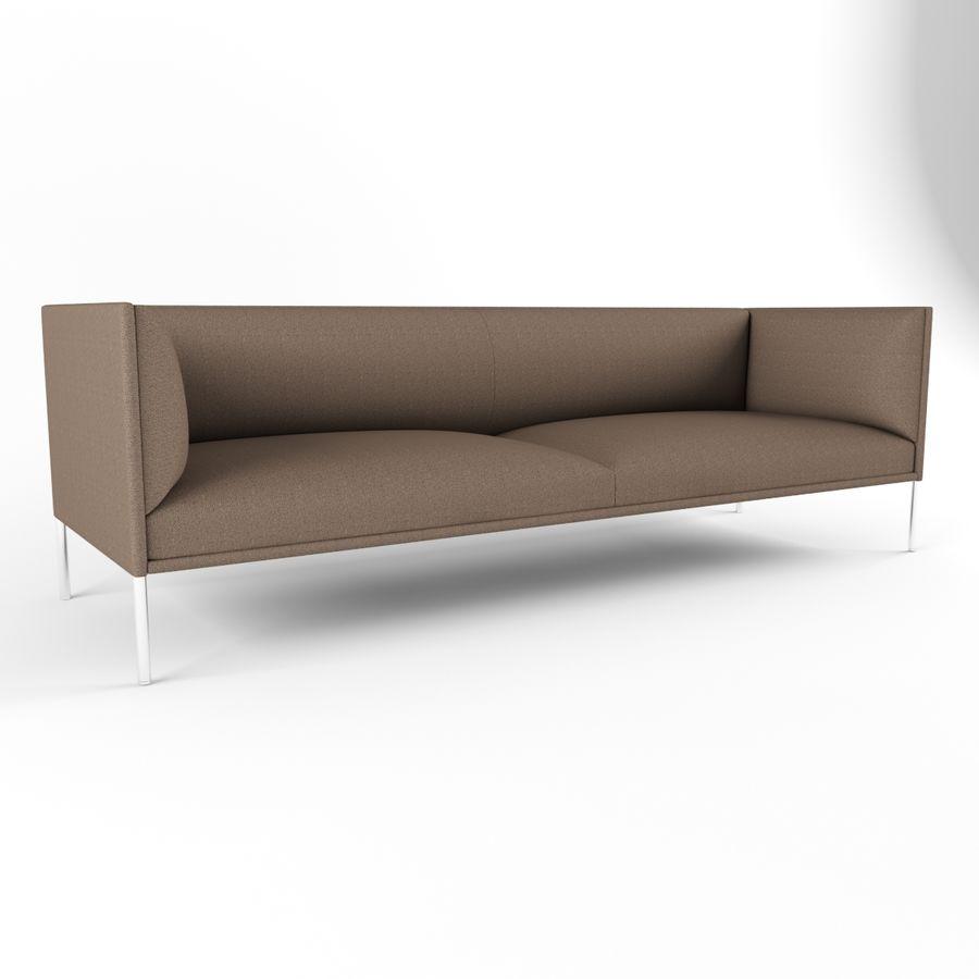 Sofa City royalty-free 3d model - Preview no. 3