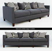Klaussner Jordan Large 3 Cushion 3d model