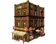 ランダウンコーナーストア(ゲーム対応) 3d model