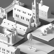 Large Building Collection 3d model