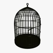 Klatka dla ptaków 3d model