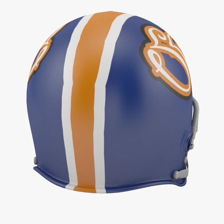足球头盔2 royalty-free 3d model - Preview no. 5