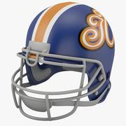 足球头盔2 3d model
