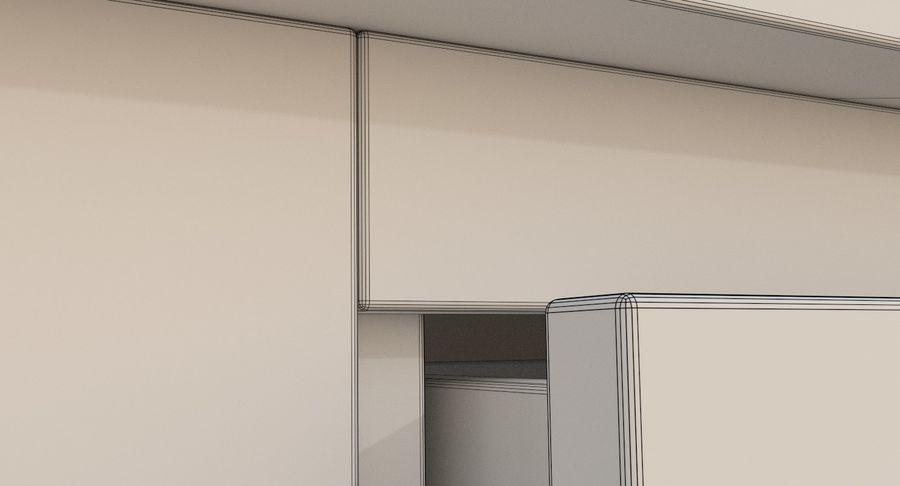 Blat kuchenny trzy teksturowany royalty-free 3d model - Preview no. 13