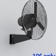 Duvar fanı 3d model