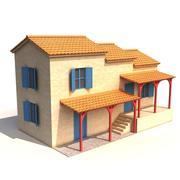 ギリシャの家02 3d model