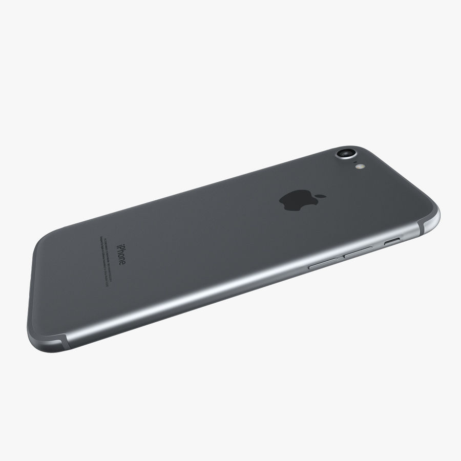 Apple iPhone 7 royalty-free 3d model - Preview no. 5