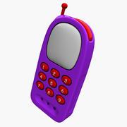 Giocattolo per telefono cellulare 3d model