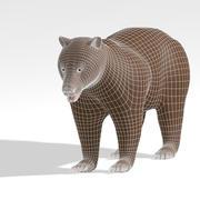 Bear 1_Base меш 3d model