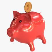 Bank Coin Pig 3d model