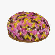 Marshmallow Cookie 3d model