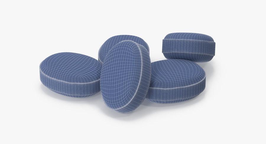 Pastillas para la tos royalty-free modelo 3d - Preview no. 25