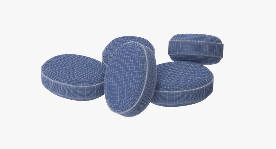 Pastillas para la tos royalty-free modelo 3d - Preview no. 29