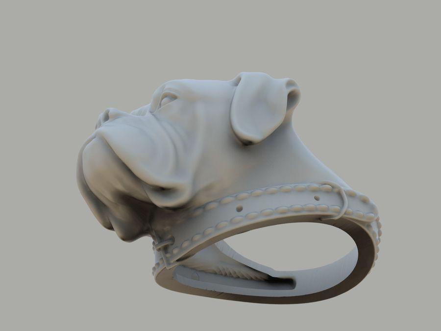 Halka köpek kafası royalty-free 3d model - Preview no. 11