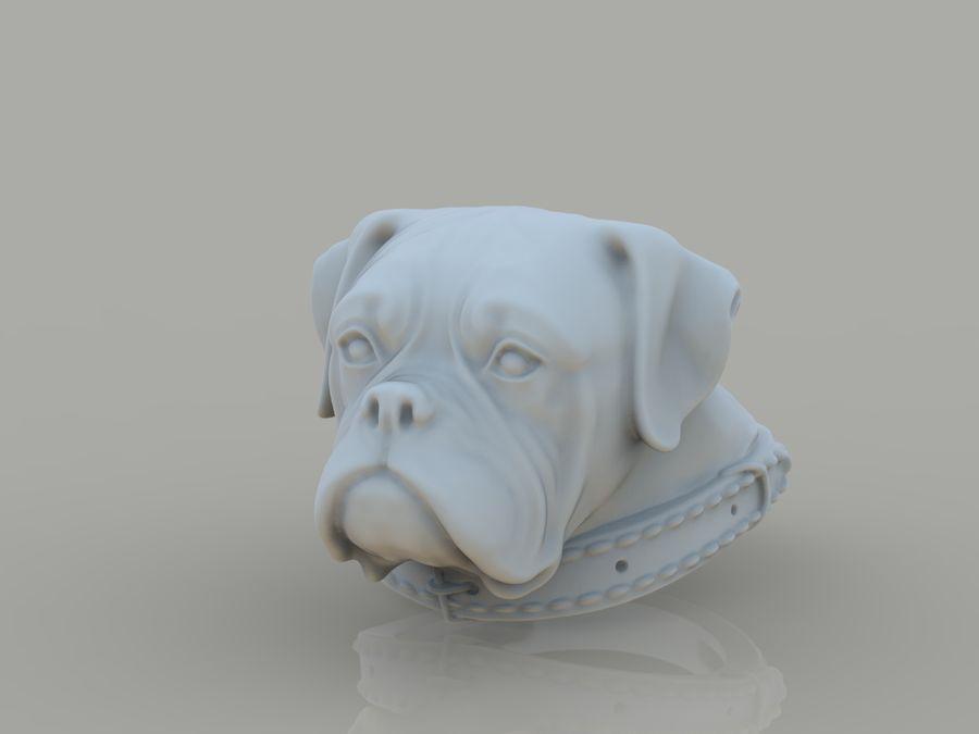 Halka köpek kafası royalty-free 3d model - Preview no. 1