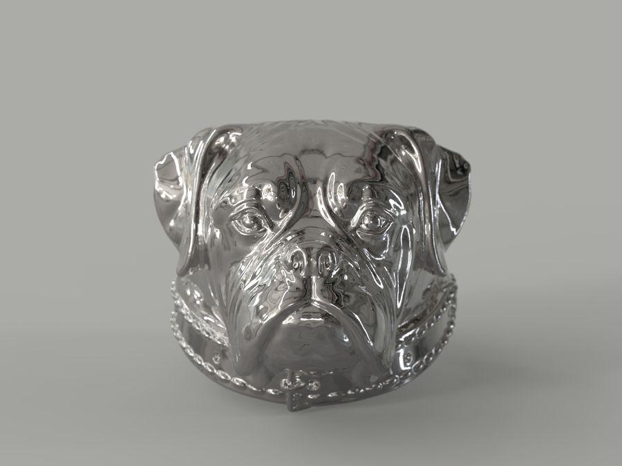 Halka köpek kafası royalty-free 3d model - Preview no. 2