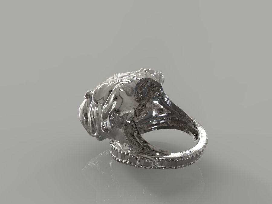Halka köpek kafası royalty-free 3d model - Preview no. 5
